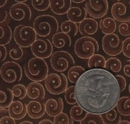 "Blank Textiles ""Spirals"" Cocoa Yardage"