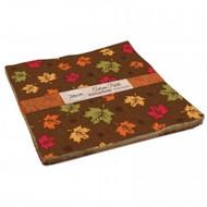 "Patrick Lose Fabrics ""Autumn Palette"" 10"" Squares"