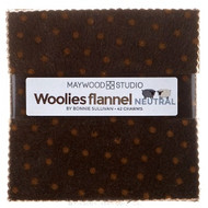"Maywood Studios ""Woolies Flannel Neutral"" Charm Pack"