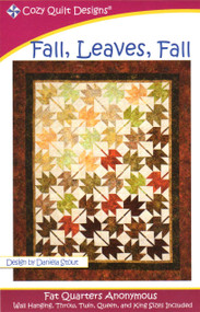 """Fall, Leaves, Fall"" Quilt Kit w/ Backing"