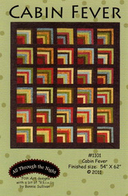 "Maywood Studios Woolies Flannel ""Cabin Fever"" Quilt Kit w/ Backing"