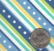 "Maywood Studios ""Little One Too"" Flannel Blue Diagonal"