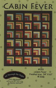 "All Through the Night ""Cabin Fever"" Quilt Pattern"