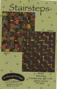 "All Through the Night ""Stairsteps"" Quilt Pattern"