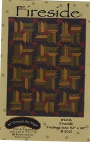 "All Through the Night ""Fireside"" Quilt Pattern"