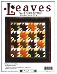 "Rachel's of Greenfield ""Leaves"" Wall Quilt Pattern"