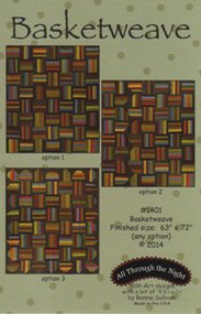 "All Through the Night ""Basketweave"" Quilt Pattern"
