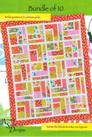 "Amelie' Scott Designs ""Bundle of 10"" Quilt Pattern"