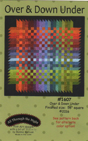 "All Through the Night ""Over & Down Under"" Quilt Pattern"