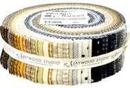 "Maywood Studios ""Woolies Flannel Neutral"" 2 1/2"" Strips"