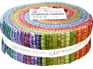 "Maywood Studios ""Woolies Flannel Colors"" 2 1/2"" Strips"