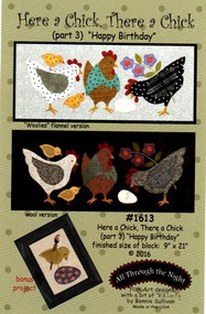 "All Through the Night ""Here a Chick, There a Chick""  Part 3 Pattern"