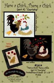 "All Through the Night ""Here a Chick, There a Chick""  Part 4 Pattern"