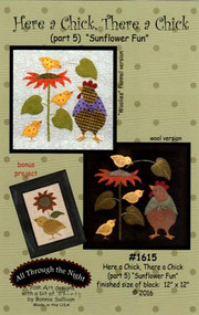 "All Through the Night ""Here a Chick, There a Chick""  Part 5 Pattern"