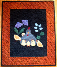 """Here A Chick, There A Chick"" Mini Quilt Kit"