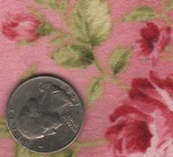 """Maywood Studios """"Welcome Home"""" Flannel Pink"""