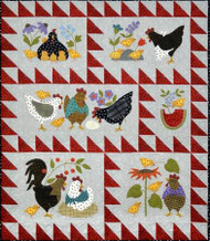 "All Through the Night ""Here a Chick, There a Chick"" Precut Quilt Kit"