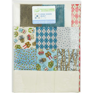 "Maywood Studios ""Forest Friends"" Irish Chain Precut Quilt Kit w/Backing"
