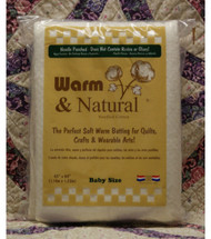 Warm & Natural Needled Cotton Batting