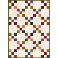 "Maywood Studios Woolies Flannel ""Colorwash"" Pre-cut Irish Chain Quilt Kit"