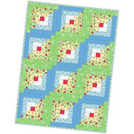 "Maywood Studios ""Lil' Sprout Flannel Too!"" Precut Log Cabin Quilt Kit"