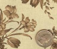 "108"" Galaxy Brown Floral"