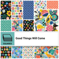 "Clothworks ""Good Things Will Come"" 10"" Layer Cake"