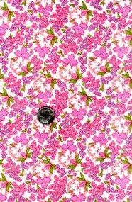 "Blue Hill Fabrics ""Toy Box IV"" Pink & Purple 30's"