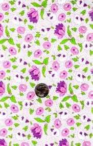 "Blue Hill Fabrics ""Toy Box IV"" Pink, Purple & Green 30's"