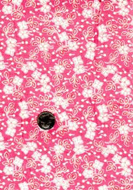 "Blue Hill Fabrics ""Toy Box IV"" Pink 30's"