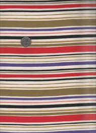 "Maywood Studios ""Crazy Red Roses"" Stripe"