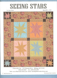 """Seeing Stars"" Quilt Pattern"