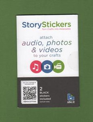 "Audio, Photo or Video ""Stick-On"" Story Patches"