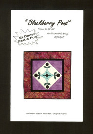 """Blackberry Pond"" Pattern"