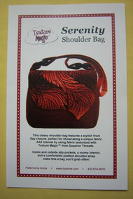 """Serenity"" Shoulder Bag Pattern"
