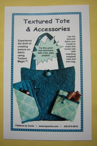 """Textured Tote"" & Accessories Pattern"