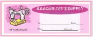 "AAAQuilter's Supply ""Gift Certificate"""