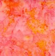 AAAQuilter's Supply Batik Orange 030