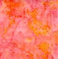 AAAQuilter's Supply Batik Orange 030