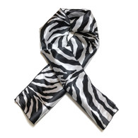 Zion Edge Laying Rectangular Satin Scarf