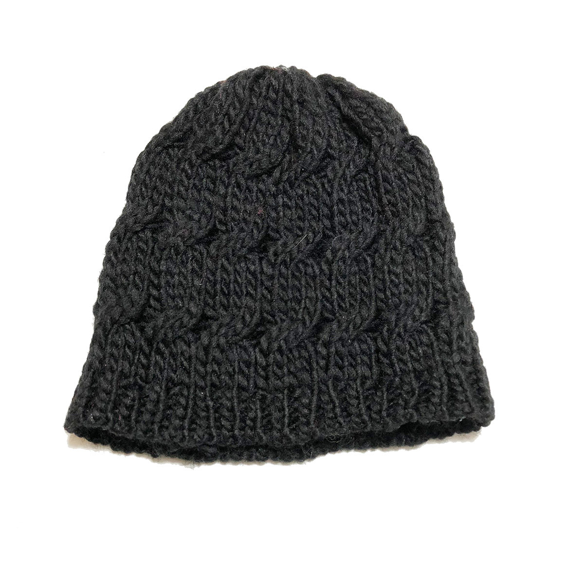 Black Infant Toddler Knit Hat - The Natural Hair Shop 7e3a03d0268