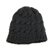 Black Infant/Toddler Knit Hat