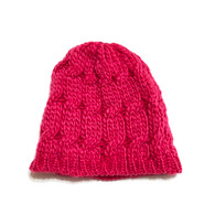 Hot Pink Infant/Toddler Knit Hat
