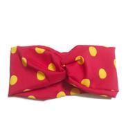 Ketchup and Mustard Turban Headband