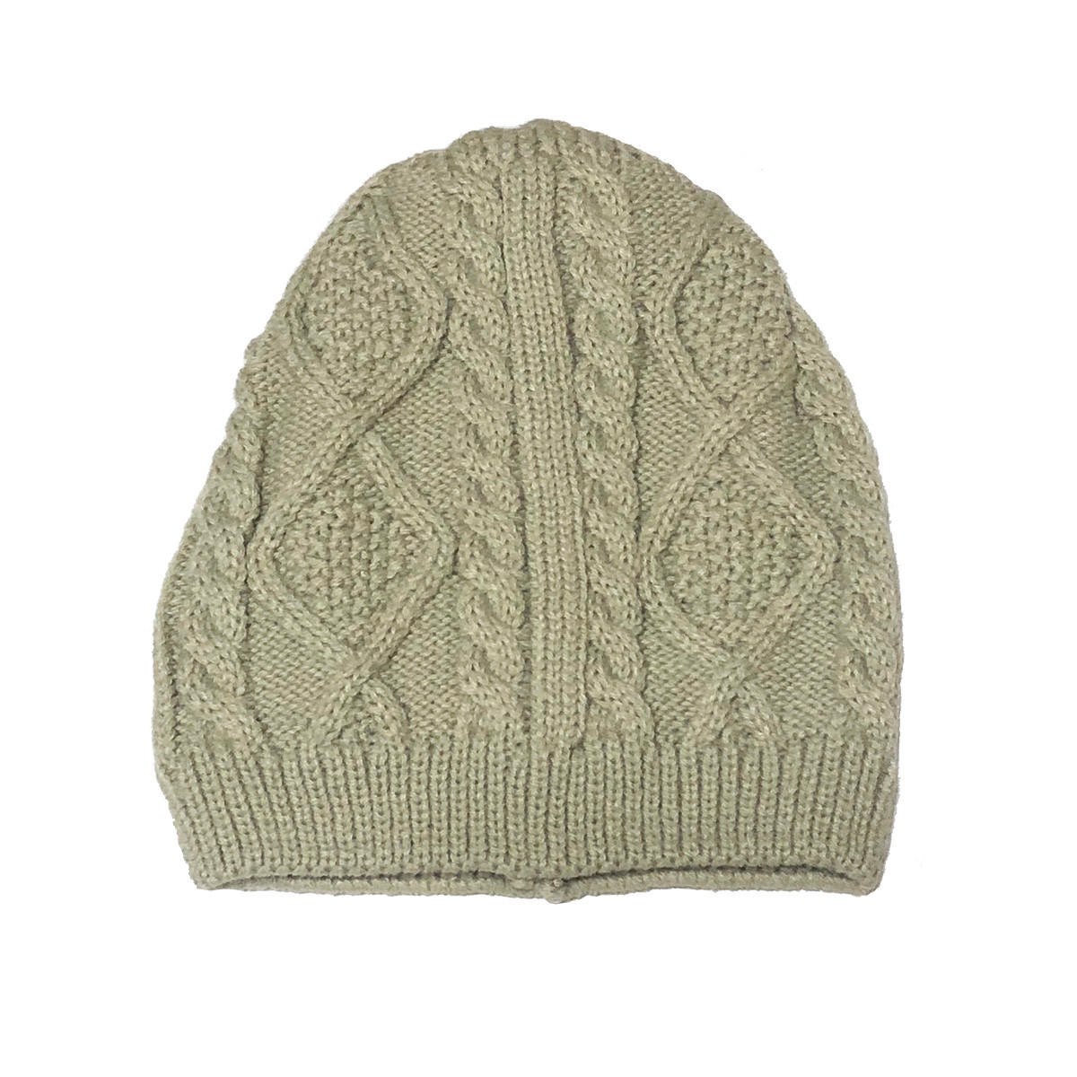 4fa2277f1d0 Cream Kids Cable Knit Hat - The Natural Hair Shop