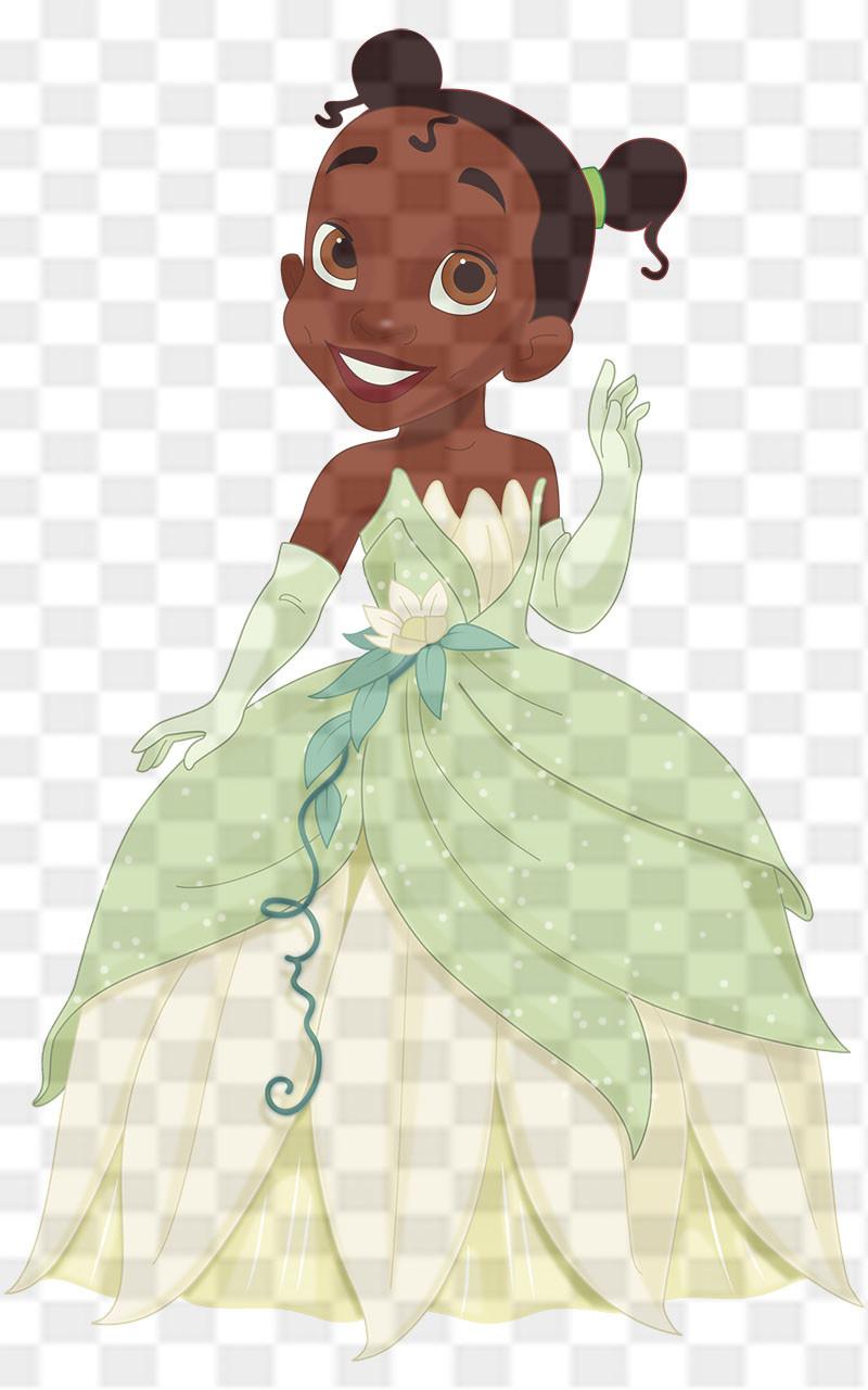 Princess Tiana Downloadable .png File - The Natural Hair Shop