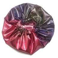 Electric Slide Reversible Satin Bonnet