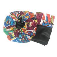 Superhero Bonnet and Pillowcase Set
