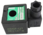 Asco 400425-142 Replacement Coil for Asco Valve Models SCG353A047, SCG353A050, and SCG353A051