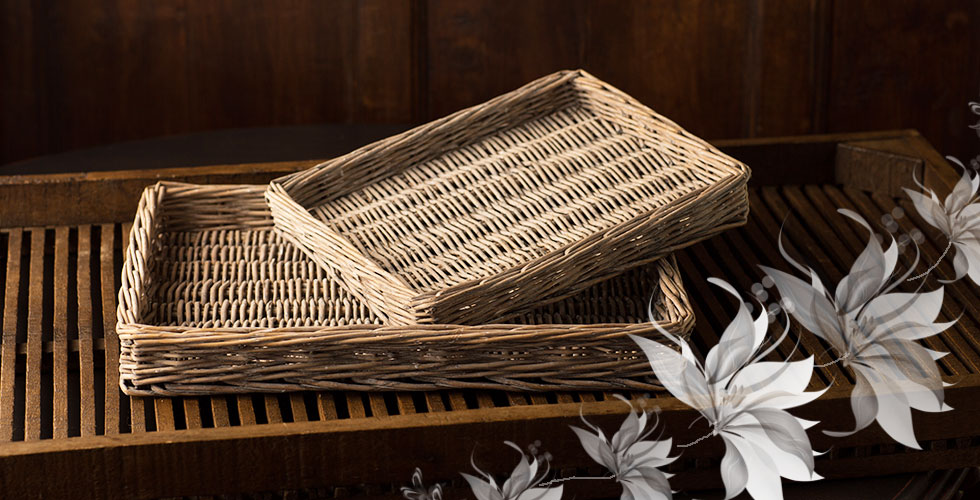 Willow Trays Set of 2